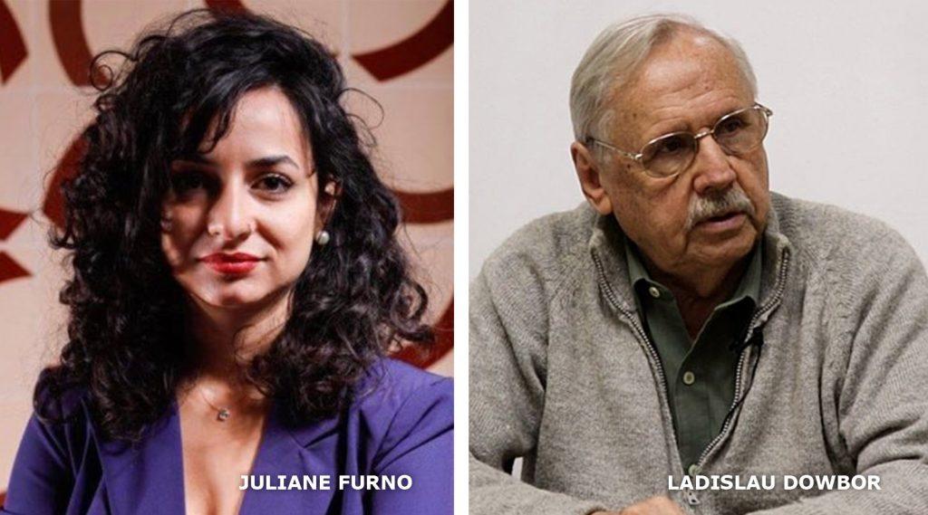 Juliane Furno e Ladislau Dowbor