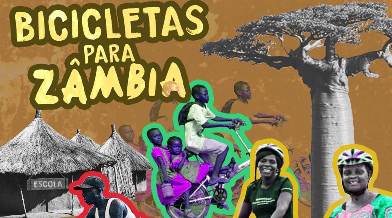 Bicicletas para Zambia